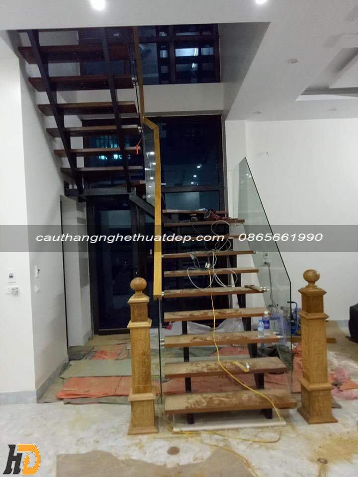 Lắp đặt cầu thang ở Bắc Giang